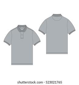 golf shirt template images stock photos vectors shutterstock