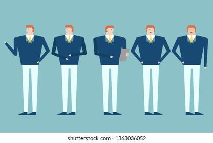 Men do business as a group..