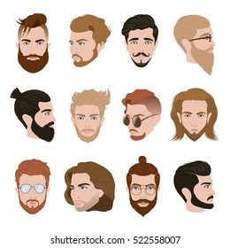 Male Hairstyle Images, Stock Photos & Vectors | Shutterstock