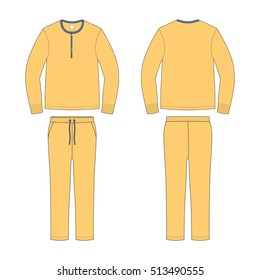 Men Loungewear Pyjama Set