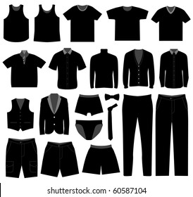 Men Man Male Apparel Shirt Cloth Wear