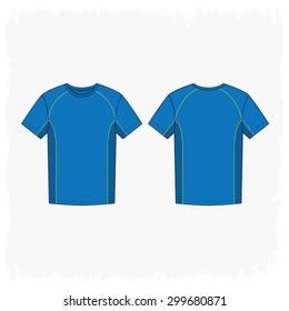 Men Sport Round Neck T Shirt