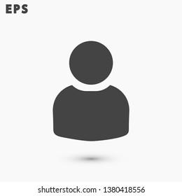 men vector icon 10 eps