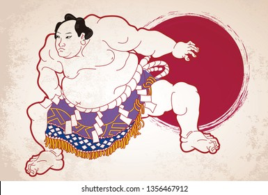 Men who take sumo wrestling which is Japanese national sport