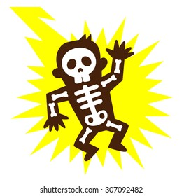 electrocuted images  stock photos   vectors shutterstock lighting clip art free lightning clipart images