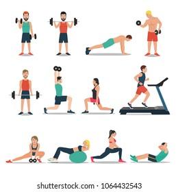 Gym Cartoon Images, Stock Photos & Vectors | Shutterstock