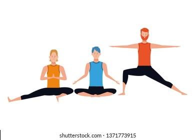 men yoga poses