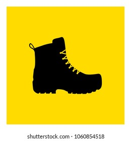 men's footwear icon vector