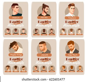 Men Hair Cut Stock Vectors, Images \u0026 Vector Art