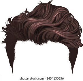 men's long hairstyle, dyes short hairstyle