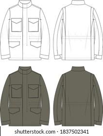 Men's M65 Field Jacket Military