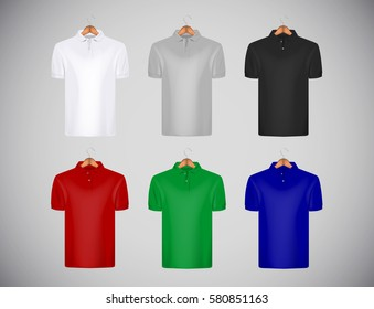 Mens Plain Long Sleeve Classic Rugby Polo Shirt Front Row Various Colours