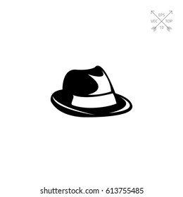 Mens Summer Hat Icon