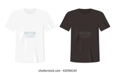 White Short Sleeve Shirt Mockup Images Stock Photos Vectors