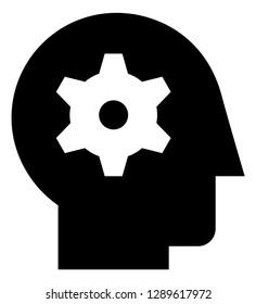 Mental Ability Comprehension Vector Icon