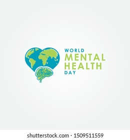 Mental Health Day Vector Design Template