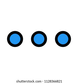Menu Ellipsis Dots