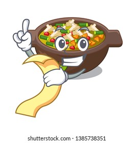 With menu fried minestrone in the cup character