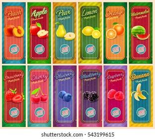 menu fruit