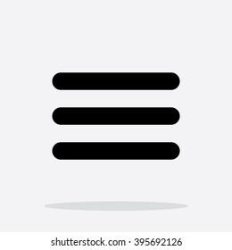 Menu Icon in Vector