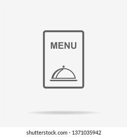 Menu icon. Vector concept illustration for design.
