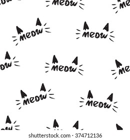 meow pattern cats