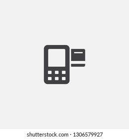 Merchant payment base icon. Simple sign illustration. Merchant payment symbol design. Can be used for web, print and mobile
