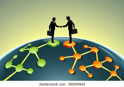 Merging Business Network-Business leaders in global agreement