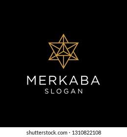 merkaba logo vector