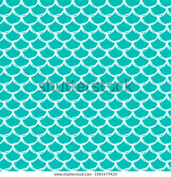 Vector De Stock Libre De Regalías Sobre Mermaid Tail