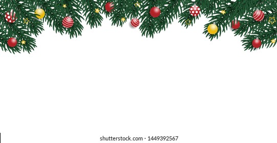 Merry Christmas Background. Vector illustration.