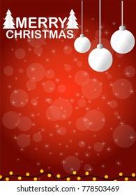 Merry Christmas Background,illustrator design.