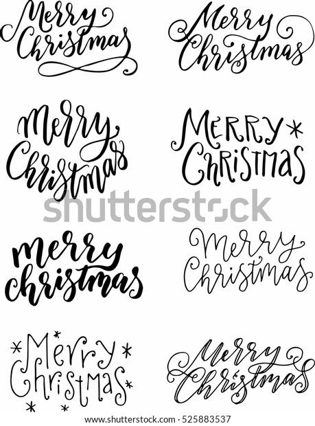merry christmas calligraphy writing stock vector royalty free 525883537 https www shutterstock com image vector merry christmas calligraphy writing 525883537