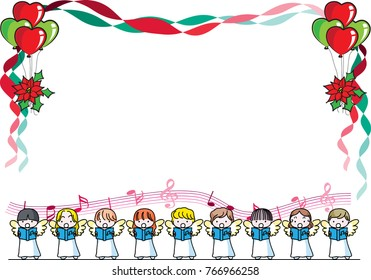 merry christmas card design background