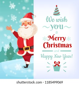 christmas poster santa images stock photos vectors shutterstock