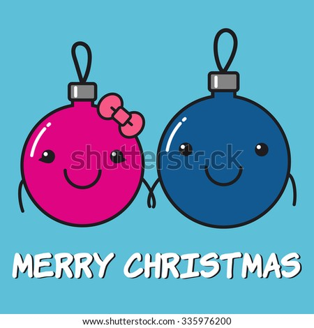 merry christmas card two cute christmas toys girlfriend and boyfriend lovely pair holding - Sign Up For Free Christmas Toys