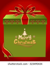 Merry Christmas ,Gift ,Christmas  background vector