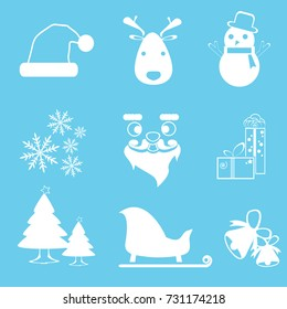 Merry Christmas! Happy Christmas companions.Vecter