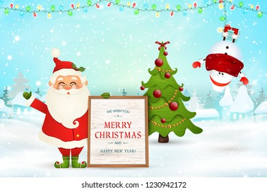 Cheerful Christmas Messages Images, Stock Photos & Vectors