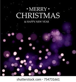 Merry Christmas, Happy New Year. Magic holidays