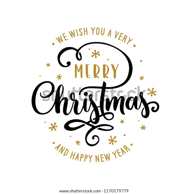 merry christmas happy new year lettering stock vector royalty free 1170179779 https www shutterstock com image vector merry christmas happy new year lettering 1170179779