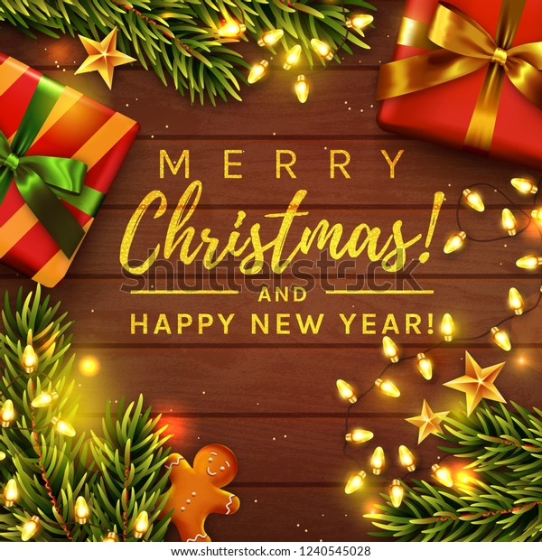 merry christmas happy new year greeting stock vector royalty free 1240545028 https www shutterstock com image vector merry christmas happy new year greeting 1240545028