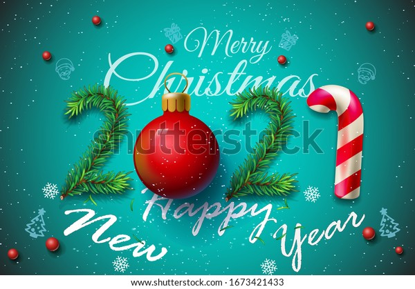 merry christmas happy new year 2021 stock vector royalty free 1673421433 https www shutterstock com image vector merry christmas happy new year 2021 1673421433