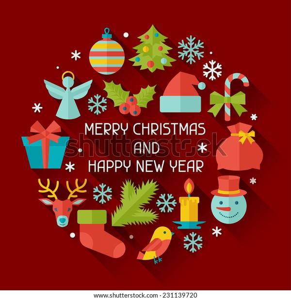 Happy New Year Invitation Card 39