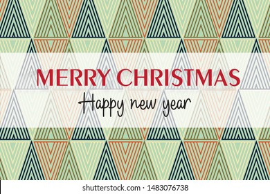 Merry christmas and happy new years background for design.