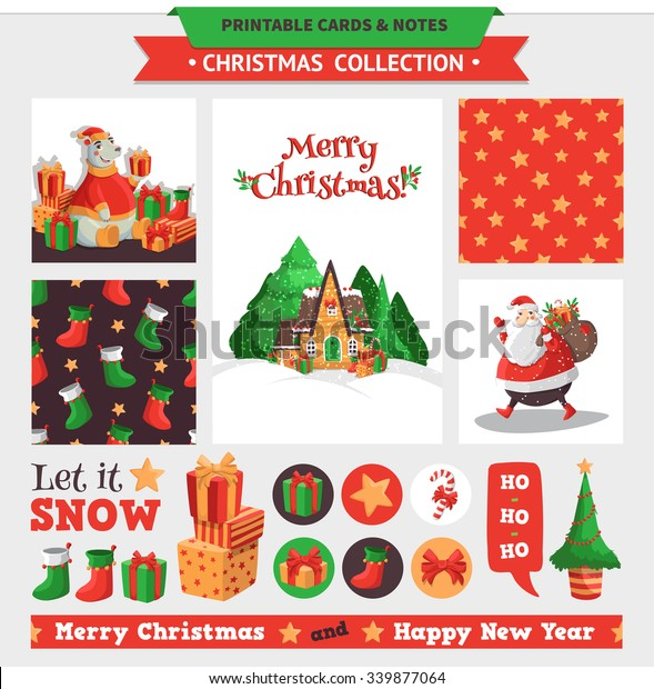 graphic about Merry Christmas Printable identified as Merry Xmas Example Vector Printable Playing cards Inventory