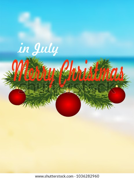 Happy Christmas In July Images.Merry Christmas July Stock Vector Royalty Free 1036282960