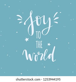 merry christmas and new year words vector handwritten typography poster lettering let it snow