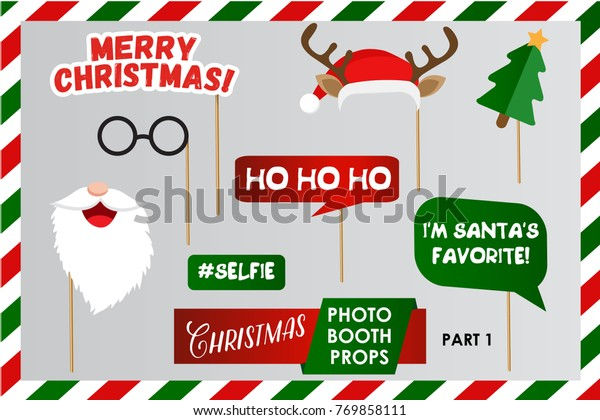 It's just a graphic of Free Printable Christmas Photo Booth Props inside pattern