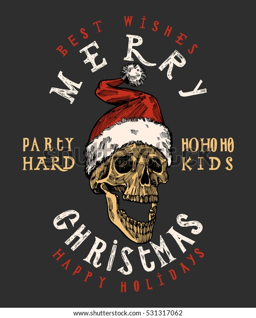 merry-christmas-santa-claus-skull-600w-5